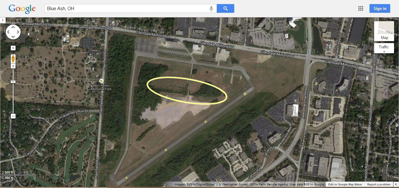 Blue Ash Project Aerial Map Prework