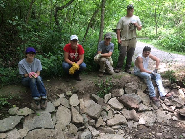 Youth conservation team restores habitat in Clermont County Parks