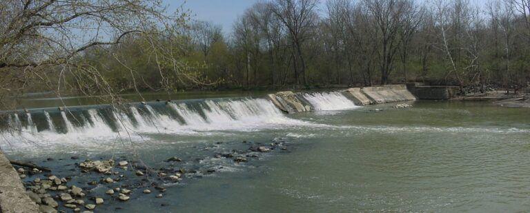 West Milton Dam