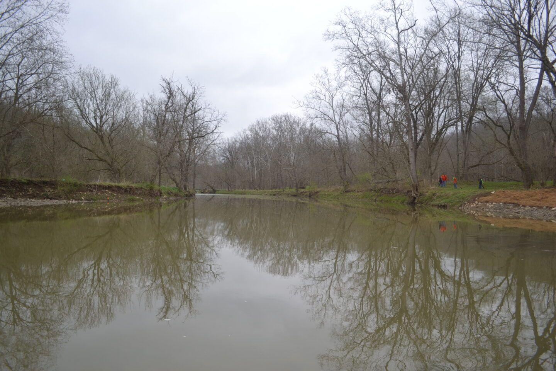 Camp Michaels Gunpowder Creek Dam Removal